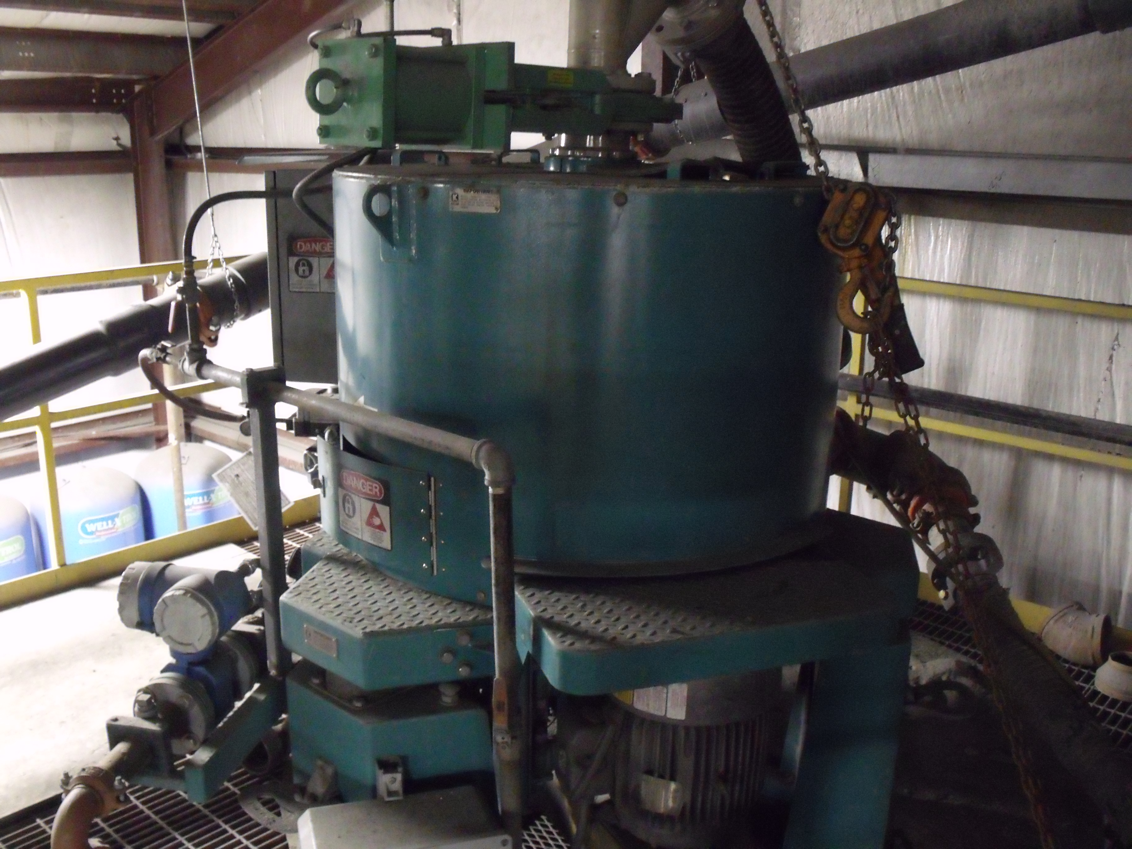 Knelson gold concentrator
