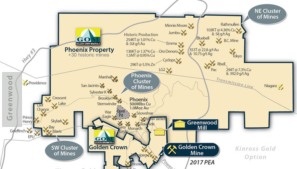 Phoenix Property - Golden Dawn Minerals