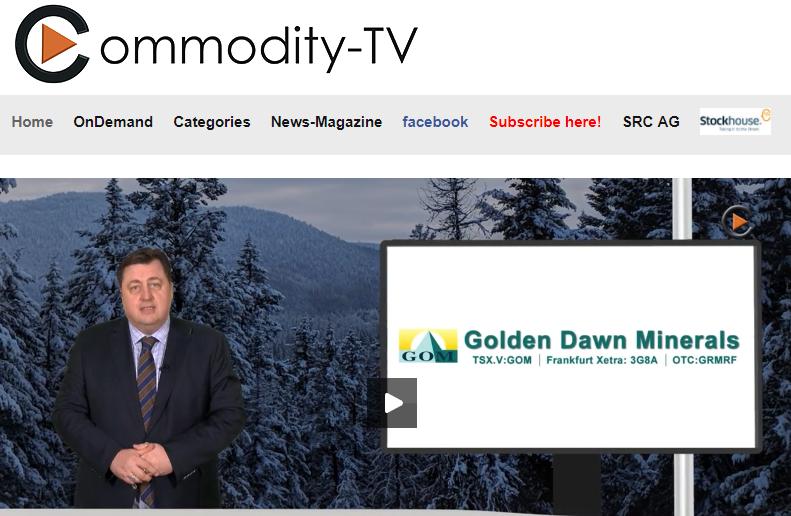 Golden Dawn Minerals Brochure