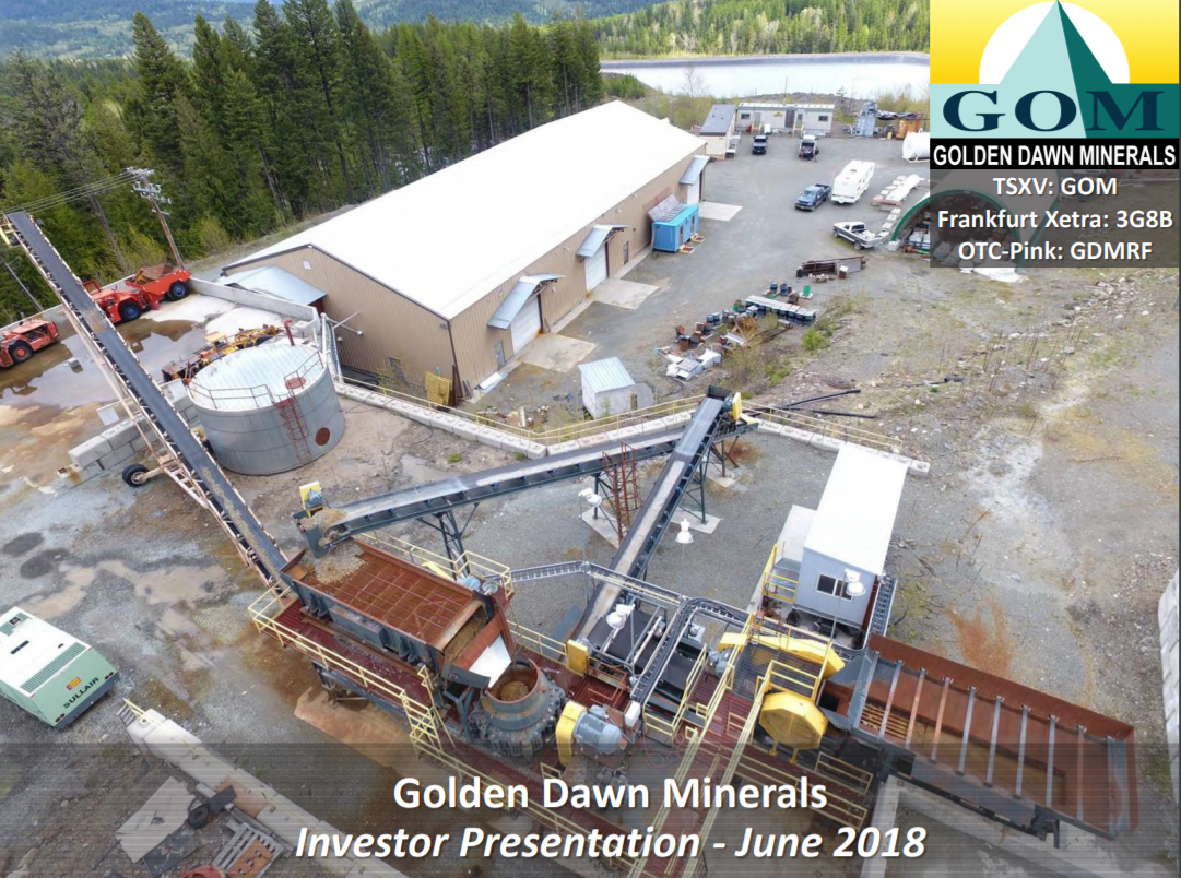 Golden Dawn Minerals Brochure